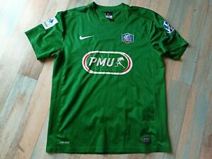 MAILLOT FOOT NIKE COUPE FRANCE FFF PMU N°5 TAILLE L/D6 USé
