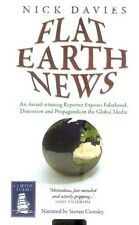 Nick Davies - Flat Earth News (Playaway MP3 A/Book 2009) FREE UK P&P