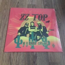 ZZ TOP - HI FI MAMA LIVE 1980 180g LP NEW SEALED