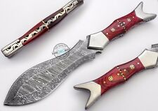 "11.50"" Custom Manufactured Beautiful Damascus Steel dagger Knife (980-4)"