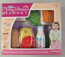 Mib 2008 Hasbro Playskool Cherry Blossom Market Delicious Deli Sandwich Set