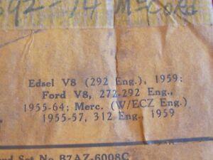 New 1955-1964 Edsel,Ford,Mercury head gasket set,272,292,312