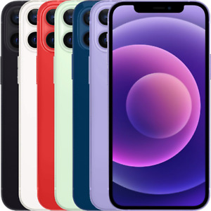 Apple iPhone 12 - 64GB 128GB 256GB Unlocked All Colours Grade A++ Certified
