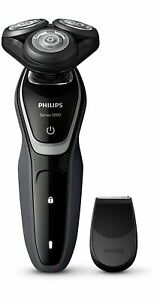 Philips S5110/06 Rotary Shaver - Series 5000 Black with Precision Trimmer