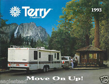 Travel Trailer Brochure - Fleetwood - Terry - Product Line Overview 1993 (MH17)