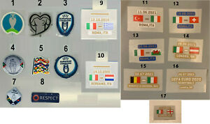NAZIONALI TOPPE EURO 2020 e NATIONS LEAGUE PATCHES - ORIGINAL PRODUCTS