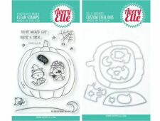 Avery Elle Clear Stamp & Die Combo ~ BOO TO YOU  Halloween, Pumpkin ~ST/D-20-37