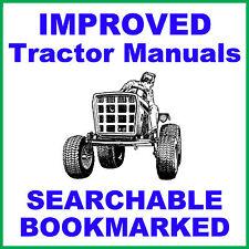 Allis CHALMERS B-10 B10 Garden Tractor SERVICE MANUAL & Parts IPC -2- MANUALS CD