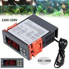 Thermostat Numérique Régulateur Contrôleur de Température+Capteur STC-1000 220V
