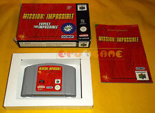 MISSION IMPOSSIBLE Nintendo 64 N64 PAL Versione Inglese ○○○○○ COMPLETO
