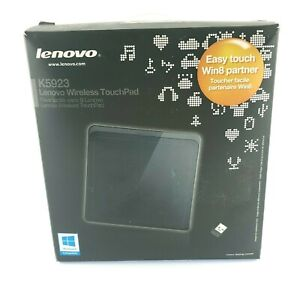 Lenovo Wireless Touch Pad Easy Touch Window 8 Black Large Surface USA Seller