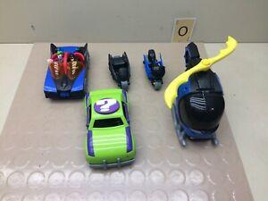 Mattel Imaginext BATMAN Riddler Vehicle and Figure Mixed Lot