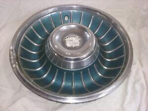 "1961 1962 Cadillac Hub Cap 16 3/4"" Stainless    -H28"