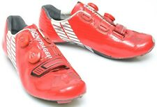 Bontrager XXX Carbon Road Bike Shoes EU 42 US Men 9 Red 3 Bolt BOA Race TT