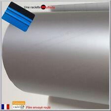 film vinyle mat gris argent thermoformable adhésif sticker covering 152cm x 50cm