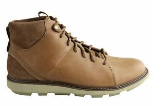 Brand New Caterpillar Brusk Hi Mens Wide Width Comfortable Leather Lace Up Boots