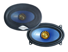 "4"" x 6"" DUALCONE CAR DOOR/SHELF SPEAKERS PAIR 4x6 INCH"