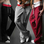 Men Boy Casual Baggy HIP HOP Dance Jogger Dance Sport Sweat Pants Harem Trousers