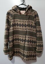 Woolrich Womens Size Large Hooded Southwest Indian Blanket Coat