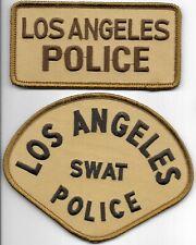 bl SWAT 41-54 Polizei Abzeichen Police Department Patch USA Los Angeles LAPD
