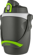 Thermos 64 Ounce Insulated Hydration Bottle Charcoal Drink Water Jug Sports Work