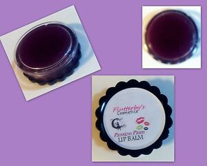 PASSION PLUM: 100% Pure Natural Organic PLUM Lip Balm Lip Stick Tint 5 g jar
