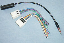 Radio Install Stereo Wire Harness + Antenna Adapter for select Nissan/Infiniti