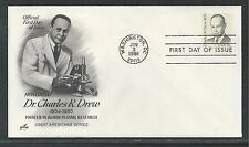 # 1865 DR. CHARLES R. DREW, BLOOD PLASMA RESEARCH 1981 ArtCraft First Day Cover
