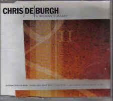 Chris De Burgh-A Womans Heart cd maxi single incl videoclip