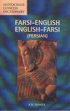 Farsi-English / English-Farsi Concise Dictionary by A. M. Miandji (Paperback, 2…