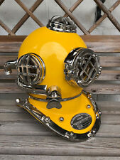 "Antique 18"" U.S Navy Diving Helmet Mark V Deep Sea Divers Helmet Vintage Replica"