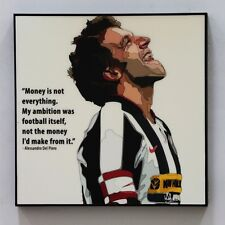 Alessandro Del Piero canvas quotes wall decals photo painting pop art poster
