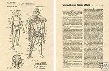 Vintage 1966 GI JOE US PATENT Art Print READY TO FRAME!!! Speers Action Figure