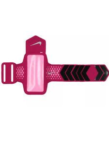Nike Women's Diamond Arm Band - Hot Pink - Adjustable - Iphone 5 / 5s Ipod