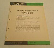 schwinn catalog 1969 | eBay