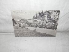 aa Vecchia cartolina foto d epoca di S. Caterina albergo Milano campagna case di