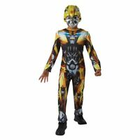 Costume da Bambini Bumblebee Transformers Tuta & MASCHERA 3-4 anni