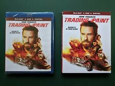 Trading Paint (Blu-ray + Digital, Slipcover, 2019) SEALED, Ohio Seller, Travolta