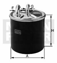 MANN-FILTER WK 11 024 FUEL FILTER OE REPLACEMENT