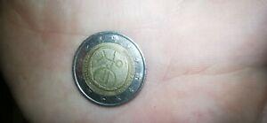 Piece de 2 euros rare Uem 1999-2009
