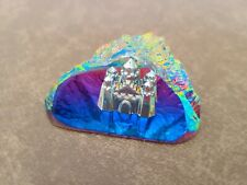 Crystal Castle Within the Mountain Miniature Fantasy Figurine