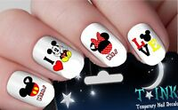 Nail Decals Stickers Disney valentines mickey mouse minnie mouse NAIL ART 15