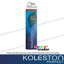Wella Koleston Permanent Hair Color Dye 60g - Deep Browns Series 6/71 Dark Blonde Brown Ash Not Included