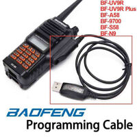 USB Programming Cable Cord CD For Baofeng UV-9R Plus BF-A58 BF-9700 S58 N9 Radio