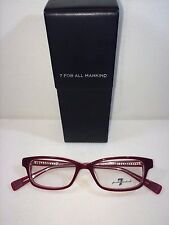 NEW 7 Seven FOR ALL MANKIND 701 Ruby  Eyeglasses 50-16-140