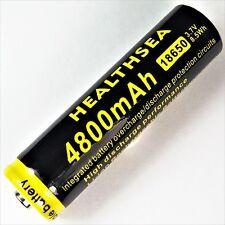 1 x healthsea 4800 mAh Batteria agli ioni di litio 3,7 V 8,5 WH 18650 Li-ion 65 x 18 mm