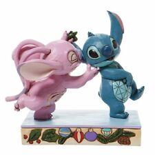 New ListingJim Shore Disney Traditions Angel And Stitch Mistletoe Kisses Figurine 6008980