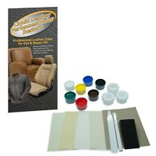 LIQUID LEATHER Repairs ALL types of Damages & Restores Color Match Guarantee USA