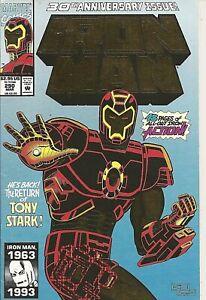 °IRON MAN #290 TONY IS BACK 30th ANNIVERSARY ISSUE° US Marvel 1993 Kaminski