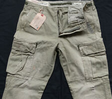Ralph Lauren Tapered Cargo Pant Stripe Green Taglia 30/32